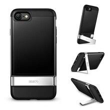 Kickstand case для iphone 7, esr антидетонаторы кремния бампера металла алюминиевая подставка магнитный автомобилей монтажа функция защитная крышка