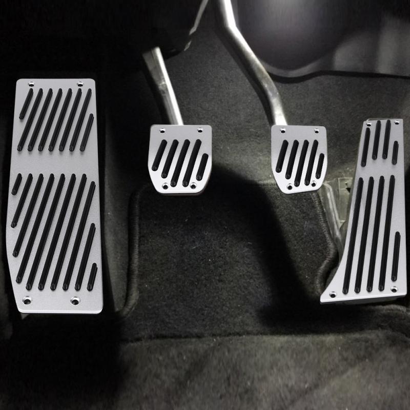 Ushopkins AT Pedal Accelerator Brake Clutch Pad Brake Foot Rest ...