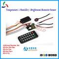 Temperatura + Humedad + Sensor de Luminosidad para HD-D10/D20/D30, HD-C10/C30, HD-A30/A30 +