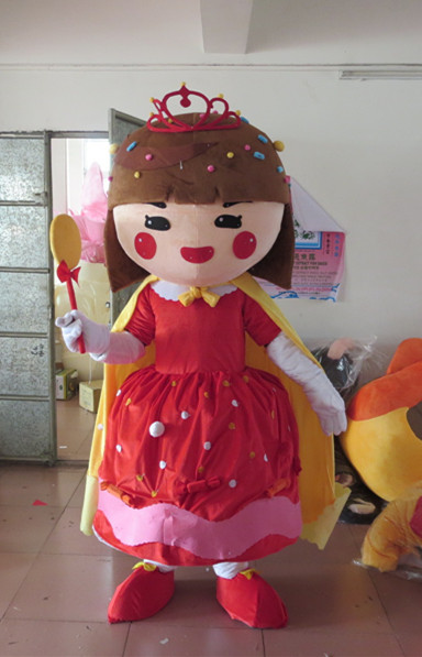 Lollipop sister mascot costumes Candy Princess mascot costumes
