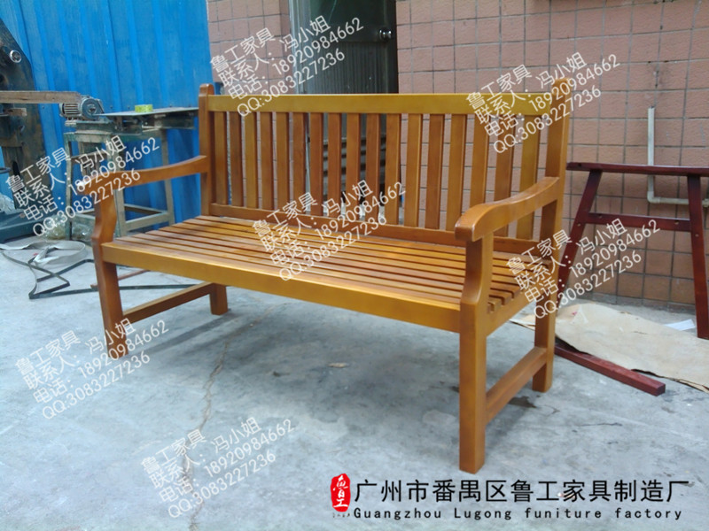 Tremendous Park Chair Long Bench Outdoor Wrought Iron Antiseptic Wooden Machost Co Dining Chair Design Ideas Machostcouk