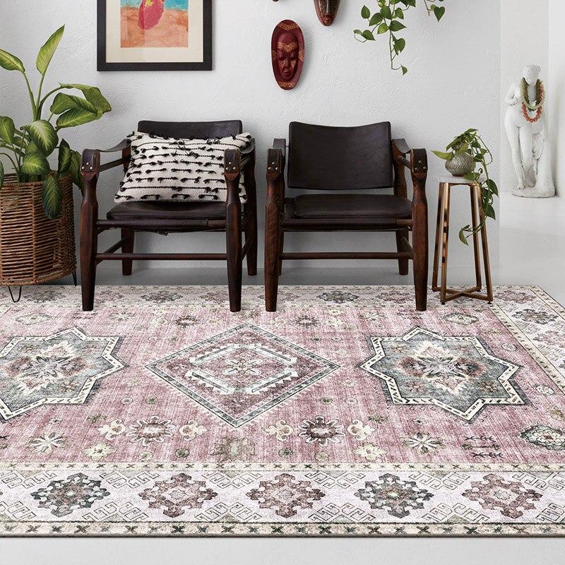 Tapis mous de Style européen pour les tapis de chambre d'enfant de chambre à coucher de salon offre spéciale de tapis de porte de plancher