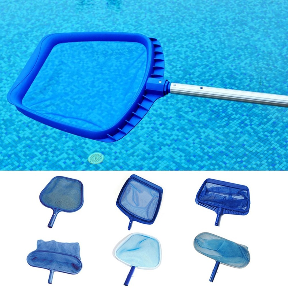 Smart Pond Skimmer Fish Net Swimming Pool Mesh Leaf Grabber Telescopic Handle