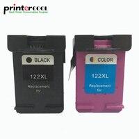 einkshop 122xl Refilled Ink Cartridge Replacement for HP 122 xl Deskjet 1000 1050 1050A 1510 2000 2050 2050A 3000 3050 printer