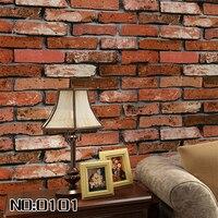 beibehang dining room 3D wall paper roll stone brick design background vinyl wallpaper roll modern for living room wallcovering