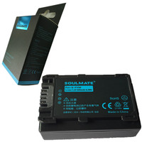 SOULMATE NP-FV50 lithium-batterien pack NPFV50 Digitalkamera Akku NP FV50 für SONY FV50 HDR DCR DVD308 508 405 505 203 103