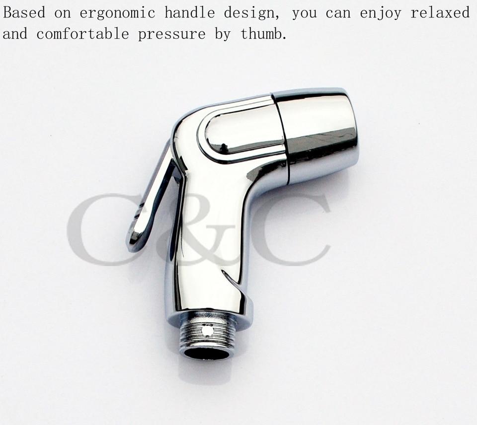 C& C бренд, гарантия качества)! Одной ручкой ABS Chrome Shattaf мобильный биде A201