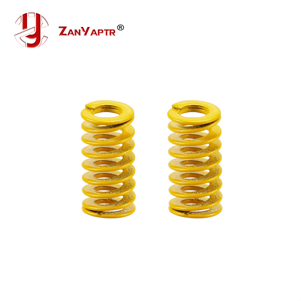 3D Prinrter Parts Spring For Heated Bed MK3 CR-10 Hotbed Imported Length 15mm OD 8mm ID 4mm For 3D Printer