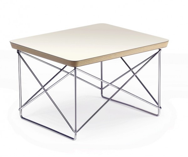 Ltr Occasional Table Eames Wire Base
