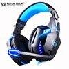 Игровая гарнитура KOTION EACH PS4 с глубокими басами, проводные игровые стереонаушники, игровые наушники с микрофоном для PS4, ПК, ноутбука 1