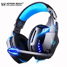 KOTION EACH PS4 Gaming Headset Deep bass Stereo Casque Wired Game Earphones Gaming Headphon