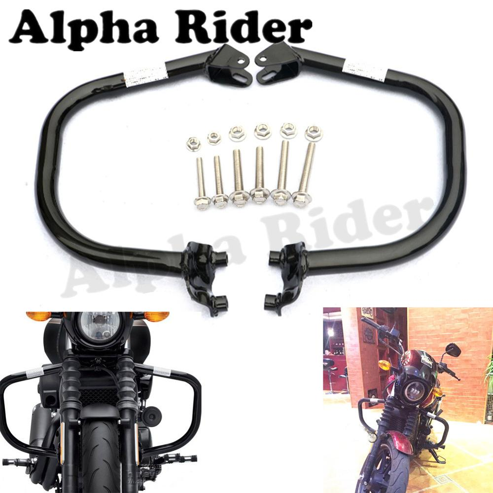 Motorcycle Accessories & Parts Modest Pair Motorcycle Bumpers Buffers Knees Protectors Legs Crash Bars Engine Guards For Harley Street 500 Xg500 750 Xg750 2015-2017 Bumpers & Chassis