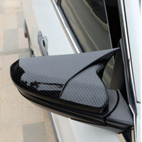 For Honda Civic 2016 2017 2018 ABS Carbon fiber texture Rear View Mirror Decorative Cover New Car styling accessories 2PCS