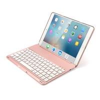 Aluminum Bluetooth Keyboard Folio Cover Case for iPad Air 2 iPad Pro 9.7 Inch EM88