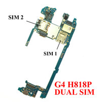 Ymitn Unlocked For G4 Boards Mobile Electronic Panel Motherboard 32GB For LG G4 H818P Dual Sim