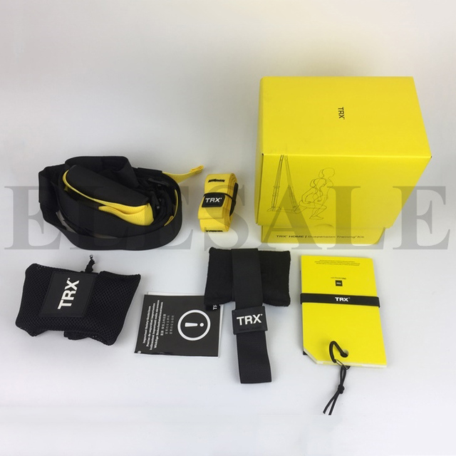 TRX Casa P3 Pro Trainer Treinamento Resistido Bandas Esporte Cintos Correias Para Ginásio Peso Corporal Com LOGOTIPO E CAIXA