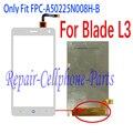Branco 100% novo display lcd + touch screen digitalizador substituição para zte blade l3 go1 frete grátis