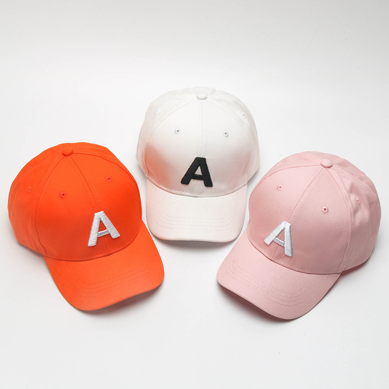 357d68288 US $4.19 16% OFF|Baseball Cap Spring Summer Children's Baseball Hat Boys  Girls Fashion Tide Embroidered Letters Cap Outdoor Sports Baby Sun Hats -in  ...