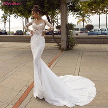 Robe de mariee sexy Illusion lace Mermaid Wedding Dresses Appliques 2019 new Bridal Gown Cathedral Train vestidos de noiva dvb t2 dvb t h 264 full 1080p mpeg 2 4 digital tv tuner iptv m3u hd set top box support youtube meecast terrestrial receiver