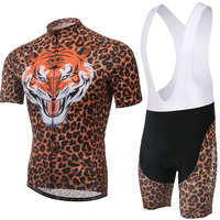Tiger XINTOWN Men's Breathable Cycling Bike Short Sleeve Clothing Bicycle Jersey S 4XL