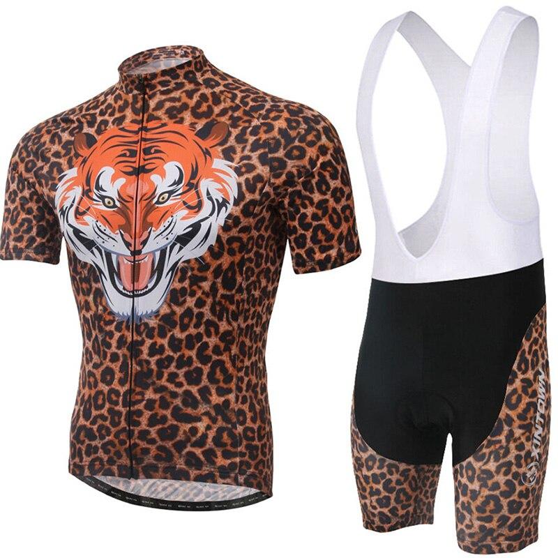 Tiger XINTOWN hommes respirant vélo vélo à manches courtes vêtements vélo Jersey S-4XL