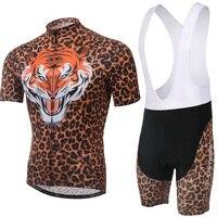 Tigre XINTOWN hombres Transpirable Ciclismo Bike Manga Corta Ropa Bicicletas Jersey S-4XL
