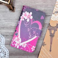 JR Luxury Painting Flip PU Leather Hard Case For Nokia Lumia 520 525 Cover Phone Bag