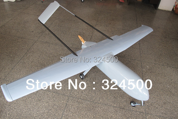 Remote Control Gas Power NEW Version Mugin 3m UAV V-Tail Platform RC Airplane With Engine Propeller Carbon Fiber Tail FPV Planes remote control electric powered discount new hugin 2 2m h tail glider modle airplane for sale radio rc model air planes kits cub