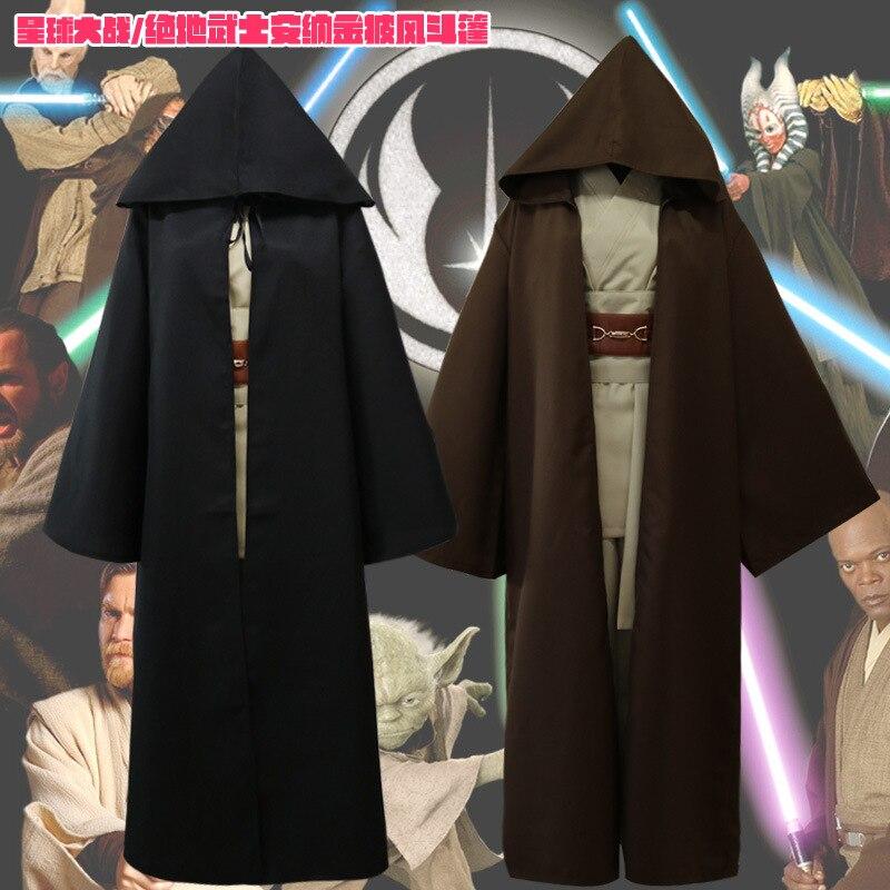2018 Star Wars Jedi Knight Anakin Skywalker Uniform Cosplay Kostüm Anakin Skywalker/Obi-Wan Kenobi Full Set Kostüm vollen Satz
