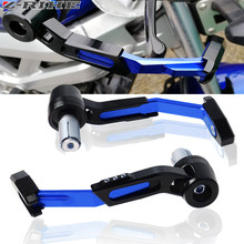 цена на Aluminum Universal 7/8 Inches 22mm CNC Handlebar Protector Brake Clutch Protect Motorcycle Lever Guard Proguard