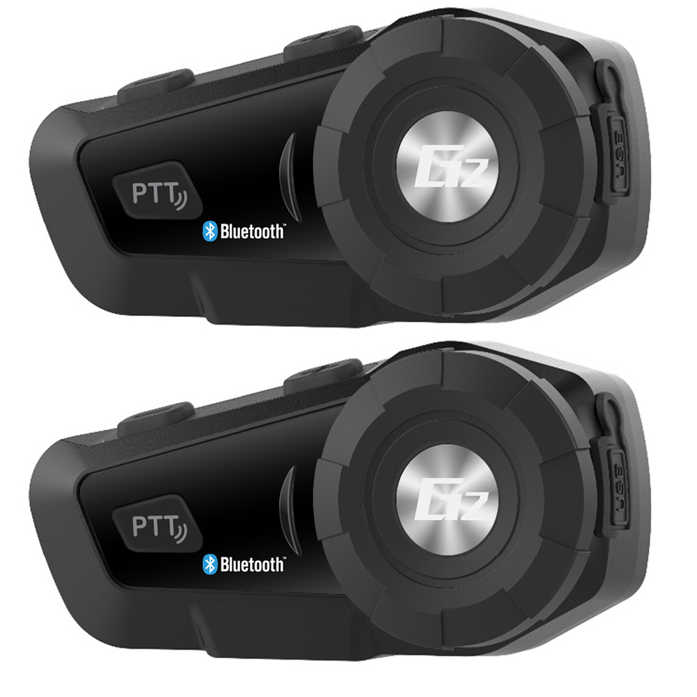2 pcs AiRide G2 Motorcycle Intercom Bluetooth Helmet Headset Intercom Wireless Intercomunicador 500M BT Interphone FM t comvb bt wireless intercomunicador interphone headset 800m bluetooth motorcycle helmet intercom walkie talkie fm soft earpiece