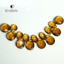 купить Diy Jewelrys Accessories Parts 50pcs/lot pear-shape cross-hole For earrings bracelets making по цене 371.57 рублей