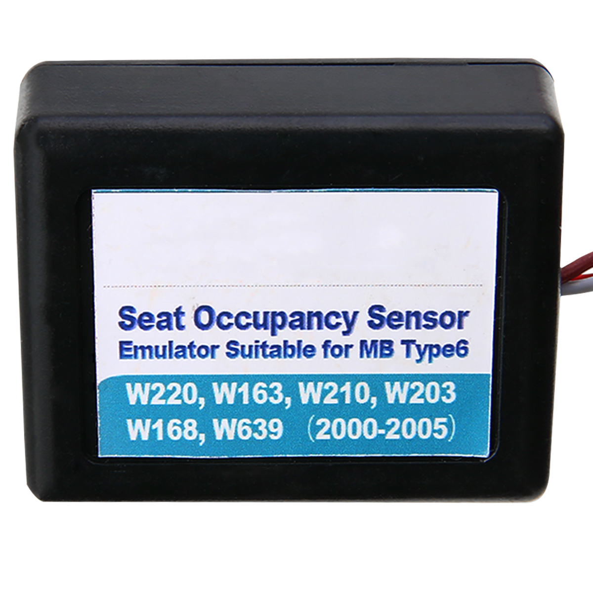 Image 4 - 1 шт. сиденье заполнение датчик занятости Эмулятор SRS для Mercedes Benz Type6 W220 W163 W210-in Инструменты сканирования подушек безопасности и симуляторы from Автомобили и мотоциклы