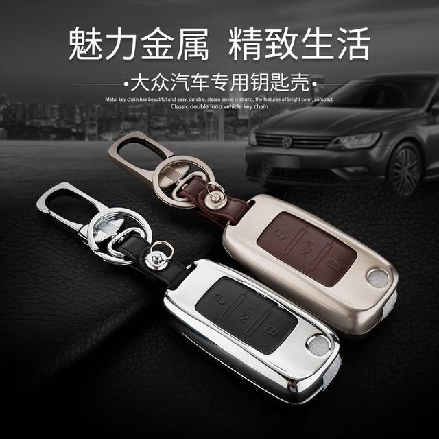 Leather Car Keychain Carve Rings For VW Golf 5 6 7 Jetta MK5 MK6 MK7 CC Tiguan Passat B6 B7 Scirocco Key Case Cover Holder bag