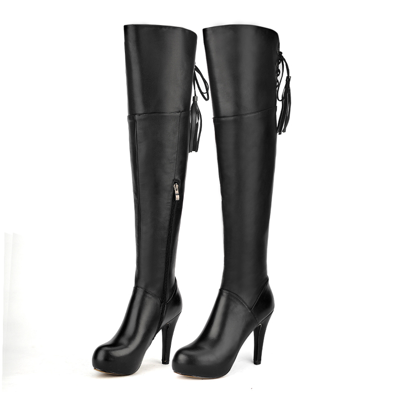 Online Buy Wholesale super high heel thigh boots from China super ...