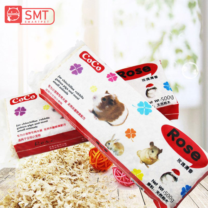 SMARTPET Hamster Rabbit Chinchilla Golden Bear Parrot Natural Wood Sawdust Sterilize Deodorize Wood Chips Pad Small Pets Product in Cages from Home Garden