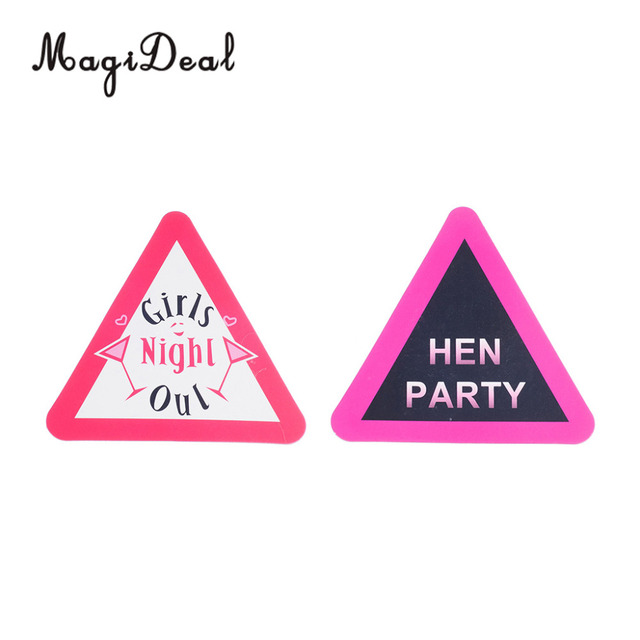 Magideal Hen Party Bride To Be Badges Brooch Pin Hens Stag Night Favors Gifts S