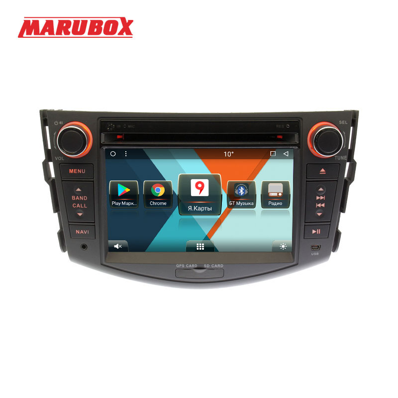 MARUBOX 7A106MT8, Voiture Lecteur Multimédia pour Toyota RAV4, 2005-2013, Octa Core, 1024*600, Android 8.1, 2 gb RAM, 32 gb ROM, GPS, DVD, Radio