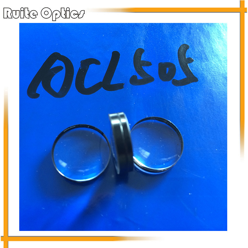 2pcs Focal Length 71mm Optical Glass Doublet Concave Convex Glass Lens Imaging Lenses 35mm Diameter Optics