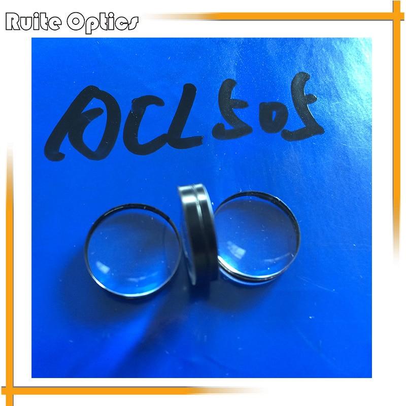 2pcs Focal Length 71mm Optical Glass Doublet Concave Convex Glass Lens Imaging Lenses 35mm Diameter Optics Element  sy 910pa quartz glass plano concave lens diameter 25 4 focal length 38 1