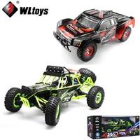 Original WLtoys 12428 12423 1 12 2 4GHz 4WD 50KM H RC Truck RC Rock Climber
