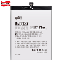 SCUD Mobile Phone Battery For OPPO R7 Plus Real Capacity 3900mAh With Retail Package Free Repair Machine Tools phone battery