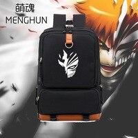 Cool Bleach Ichigo mask printing backpack bleach backpack Japanese Anime bag for student NB101