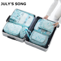 8 Set Packing Cubes Compression Travel Luggage Organizers With Laundry Bag Shoes Bag For Carry On