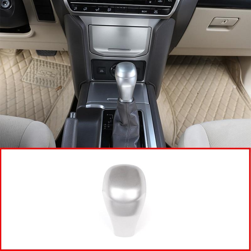 For Land Cruiser Prado Fj150 2014-2017 ABS Gearshift Gear Head Knob Cover Trim