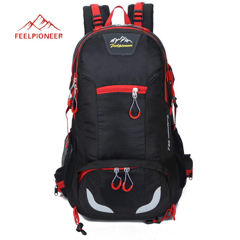 Outdoor Backpack 38L Climbing Sport Bags Large Capacity Men Rucksack Camping Hiking Backpacks Athletic Travel Bag waterproof цена