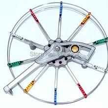 Высокое качество 26 см stainess стальная катушка воздушного змея легко контролировать weifang кайт завод открытый игрушки hckxkite kitesurf