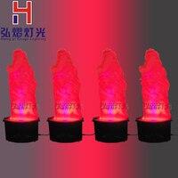 4xlot 36 шт. 10 мм моделирование эффект пламени светодиодный 1.1 м огонь мерцания горения Беспламенного украшение лампы