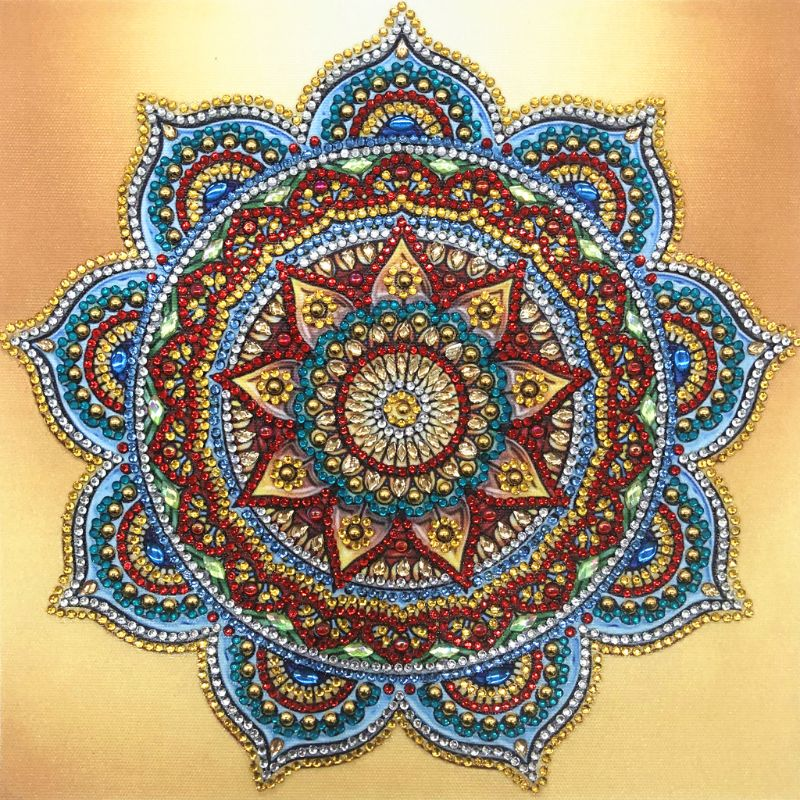 Flowers 5D Special Shaped Diamond Painting Embroidery DIY Cross Stitch Craft