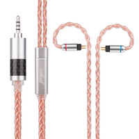 Yinyoo H3 H5 8 Core Upgraded Silver Plated Pink Cable 3 5 2 5 4 4mm